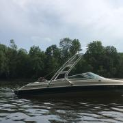 Big Air Cuda Tower - 1994 Chris Craft 197 Concept - Polished Aluminum - wakeboard tower