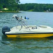 Big Air Cuda - 2015 Starcraft Limited 2000 - Polished Aluminum - Wakeboard tower