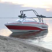 Big Air Cuda Tower - 2005 Tahoe Q5 - Polished Aluminum - Wakeboard Tower