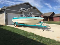 Big Air Fusion Tower - 1993 Bayliner Capri 185 - Stainless Steel - wakeboard tower (1)