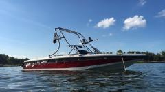 Big Air Fusion Tower - 1990 Correct Craft Sport Nautique - Stainless Steel - Wakeboard tower (1)