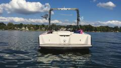 Big Air Fusion Tower - 1990 Correct Craft Sport Nautique - Stainless Steel - Wakeboard tower (2)