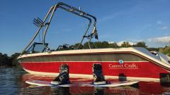 Big Air Fusion Tower - 1990 Correct Craft Sport Nautique - Stainless Steel - Wakeboard tower (3)