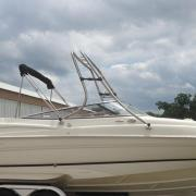 Big Air Fusion Tower - 2003 Regal 2600 - Brushed Stainless Steel - Wakeboard tower