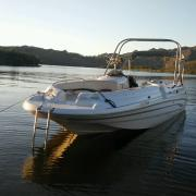 Big Air H2O Tower - 2000 Chaparral Sunesta 256 - Stainles Steel - Wakeboard tower