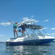 Big Air H2O.3 - 1995 Chris Craft Concept 18 - Stainless Steel - Wakeboard tower (2)