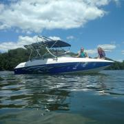Big Air H2O.3 - 1995 Chris Craft Concept 18 - Stainless Steel - Wakeboard tower (3)