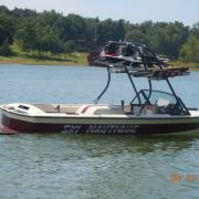 Big Air H2O Tower - Correct Craft Ski Nautique - black - wakeboard racks - stainless steel - wakeboard tower