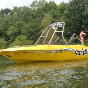 Big Air H20 Tower - Crownline - LPX - stainless steel - wakeboard tower