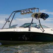 Big Air H2O Tower - 1996 Crownline 202 - Stainless Steel - wakeboard tower