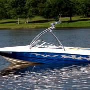 Big Air Predator - Chaparral - Polished Aluminum - Wakeboard tower (2)