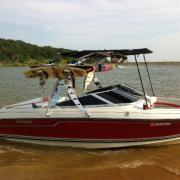 Big Air Wave Tower - Regal - polished aluminum - wakeboard tower