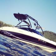 Big Air XTower - Rinker - Captiva - Black Aluminum - Wakeboard tower